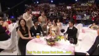 getlinkyoutube.com-2009 MBC AWARD-Interview with the cast of QSD- with eng trans.wmv