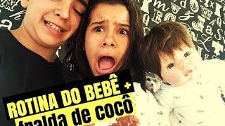 getlinkyoutube.com-ROTINA DO BEBÊ + FRALDA DE COCÔ - GABRIELLA SARAIVAH
