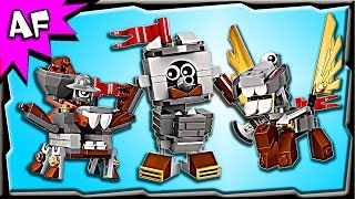 getlinkyoutube.com-Lego Mixels MEDIVALS Series 7 Camillot, Mixadel, Paladum Build Review 41557, 41558, 41559