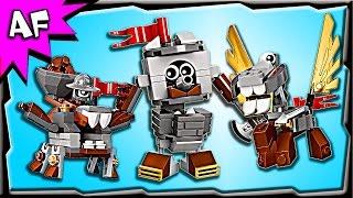 Lego Mixels MEDIVALS Series 7 Camillot, Mixadel, Paladum Build Review 41557, 41558, 41559