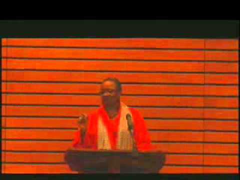 8th Annual C. Shelby Rooks Lecture 2014 - Rev. Dr. Renita J. Weems
