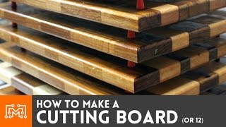 getlinkyoutube.com-Making cutting boards  // How-To