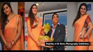 Namitha launches Dr Batra Photography Exhibition