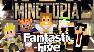 getlinkyoutube.com-MINETOPIA #11 - De FANTASTIC FIVE!! - Minecraft Reallife Server