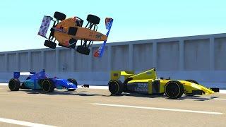 getlinkyoutube.com-BeamNG DRIVE Random Vehicles Crash Testing Part 6