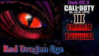getlinkyoutube.com-Black Ops 3 Emblem - Red Dragon Eye