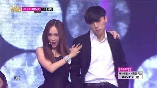 getlinkyoutube.com-All Black - Girls' Generation - Mr.Mr, 소녀시대 - 미스터미스터, 1위, Show Music core 20140315