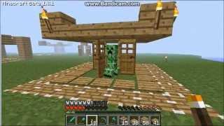 getlinkyoutube.com-Minecraft-How to make the ultimate creeper trap