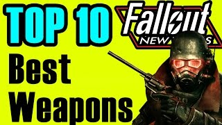 getlinkyoutube.com-Fallout New Vegas: TOP 10 Weapons (All DLC Best Weapons)