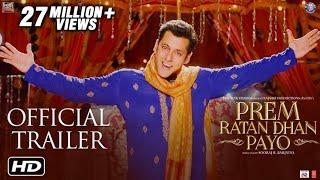 Prem Ratan Dhan Payo Official Trailer | Salman Khan & Sonam Kapoor | Sooraj Barjatya