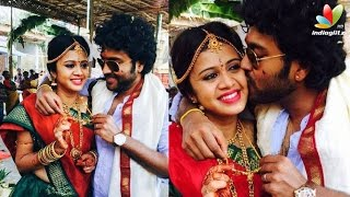 getlinkyoutube.com-VJ Anjana gets married to Kayal Chandran | Wedding