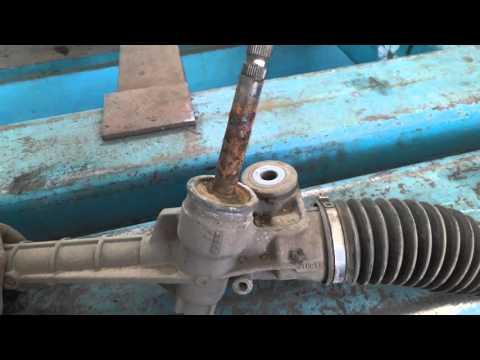 Peugeot 107. ремонт рулевой рейки. пробег 25 тысяч! часть 1.