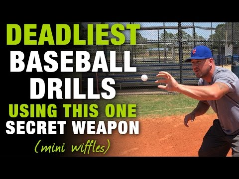 Top 10 DEADLIEST Baseball Drills You Can Do With This ONE SECRET WEAPON! [Mini Wiffle Ball Drills]