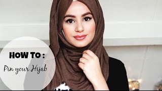 getlinkyoutube.com-How to : Pin your Hijab!