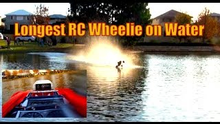getlinkyoutube.com-Hydroplaning Traxxas E revo test run