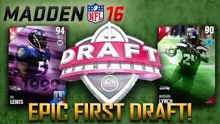 getlinkyoutube.com-Madden 16 Draft Champions | AMAZING First Draft! | MUT 16