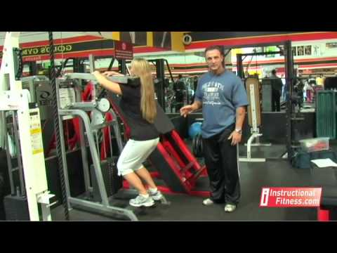 Instructional Fitness - Standing Calf Raises