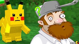 getlinkyoutube.com-Minecraft Mods Pixelmon Watching PVZ 2 Birthday Pinata Party In Giant Soccer Field!