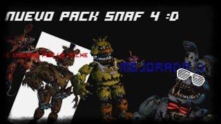 getlinkyoutube.com-Full Body Pack Five Night At Freddys 4 Por D.I.C :D