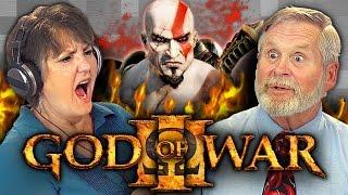getlinkyoutube.com-ELDERS PLAY GOD OF WAR 3 (Elders React: Gaming)
