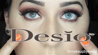 getlinkyoutube.com-Desio Lenses Review!!! | Innocent white and Creamy Beige!