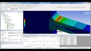 getlinkyoutube.com-ANSYS Non-Linear Stress-Strain Chart/Plot Tutorial - Static Structural