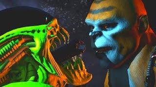 Mortal Kombat XL - All Fatalities/Stage Fatalities on Kintaro (Including Kombat Pack 2)