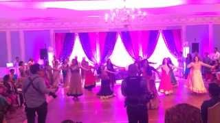 getlinkyoutube.com-Family Dance for Yuvraj and Reema's Sangeet - 5.15.2015