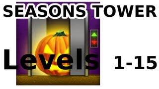 getlinkyoutube.com-100 Floors - ALL LEVELS - Halloween Special - Seasons Tower - Walkthrough