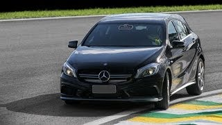 getlinkyoutube.com-Mercedes A45 AMG apavora em Interlagos