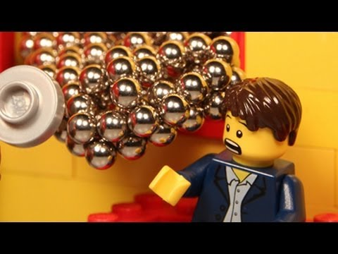 Attack of the Magnets! - Lego Animation ft. Zen Magnets