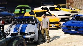 getlinkyoutube.com-GTA 5 TREVORS NEW MUSCLE CAR COLLECTION (Real Car Mods)