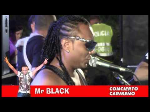 Mr Black en sincelejo   Concierto Caribeño