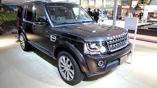 getlinkyoutube.com-2014 Land Rover Discovery XXV - Exterior and Interior Walkaround - 2014 Geneva Motor Show