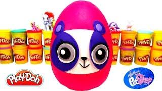 getlinkyoutube.com-Oyun Hamuru ile Dev LPS Minişler Sürpriz Yumurta - LPS Miniş, Disney ve Karlar Ülkesi  Oyuncakları
