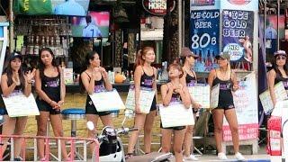 getlinkyoutube.com-Bangla Road in the Daytime - Phuket, Thailand