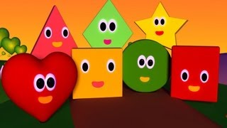 getlinkyoutube.com-The Shapes Song | Nursery Rhymes | Nursery Rhymes With Lyrics