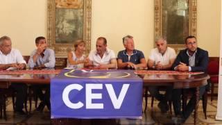 Conferenza stampa di presentazione del  Trofeo di Beach Volley a Vulcano