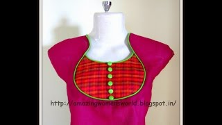 getlinkyoutube.com-POT NECKLINE - EASY MAKING