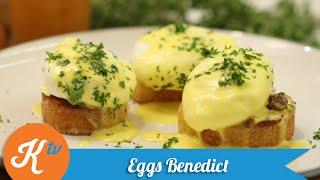 Resep Sarapan Egg Benedict (Eggs Benedict Recipe Video) | REVO