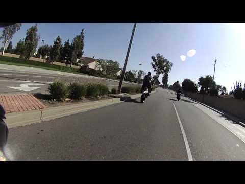 Kriminal & Big T side by side wheelie