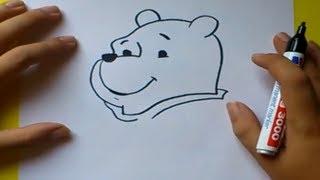 getlinkyoutube.com-Como dibujar a Winnie the pooh paso a paso - Winnie the pooh | How to draw Winnie the pooh