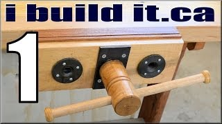 getlinkyoutube.com-Making A Woodworking Vise, Part 1 Of 10