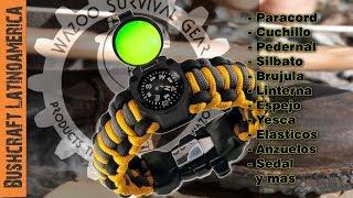 getlinkyoutube.com-Brazalete De Supervivencia Adventure de Wazoo