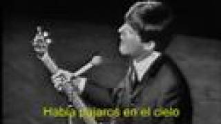 getlinkyoutube.com-The Beatles - Till There Was You - Subtitulado en español