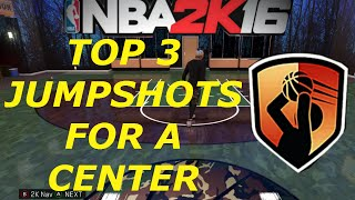 getlinkyoutube.com-TOP 3 BEST JUMPSHOTS FOR CENTERS - NBA 2K16