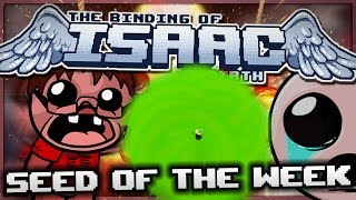 The Binding of Isaac: Rebirth - Seed of the Week: Actual Sun Power!