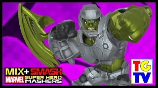getlinkyoutube.com-Marvel Super Hero Mashers Hulk (Battles Edited)   Mix + Smash