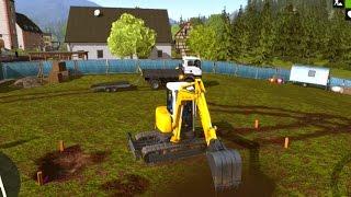 getlinkyoutube.com-Construction Simulator | Construcciones Yek el comienzo.