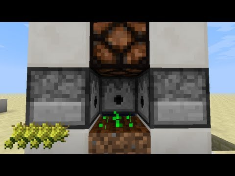 Minecraft - Fastest Automatic Wheat Farm (13w05a)